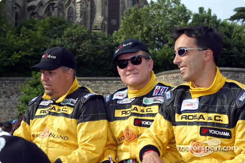 Luca Riccitelli, Gabrio Rosa and Luca Drudi