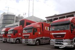 Ferrari transporters