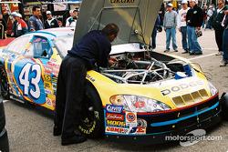John Andretti's crew member