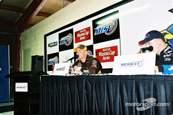 Post-race press conference with Dale Jarrett and Ryan Newman