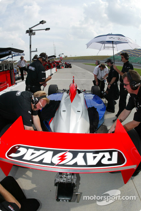 Un équipier Blair Racing