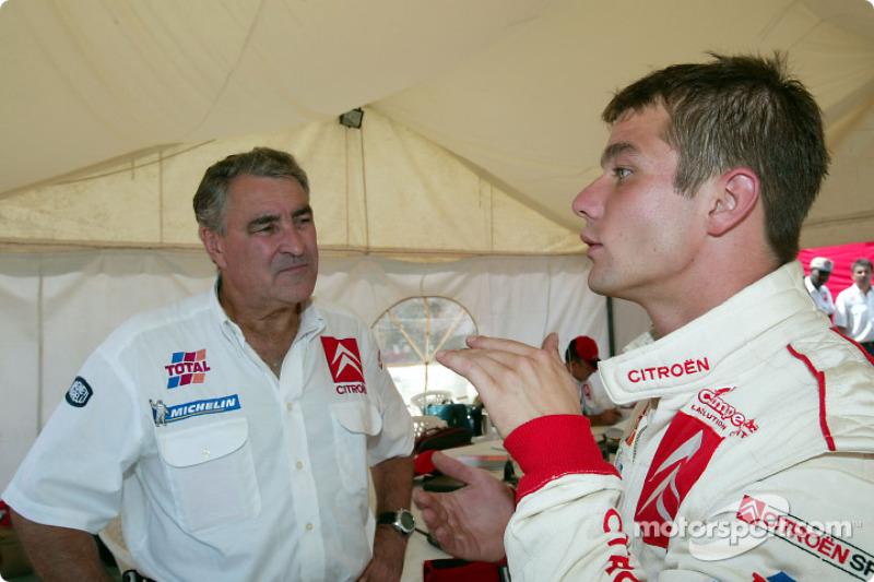Guy Fréquelin y Sébastien Loeb