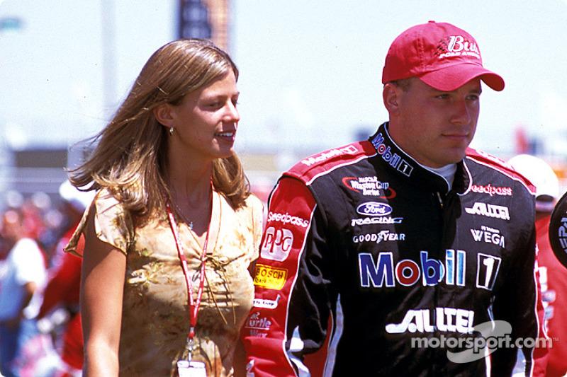 Ryan Newman y su novia