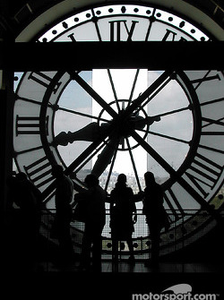 Looking through the clock at Musée d'Orsay