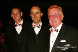 Stars and Stripes party in Washington: Gunnar Jeannette, David Brabham and Don Panoz