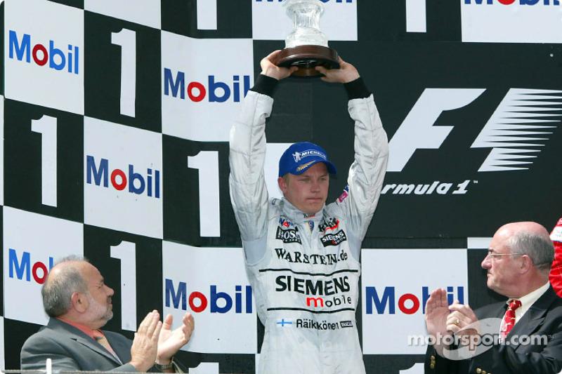 Grand Prix von Frankreich 2002 in Magny-Cours: Platz zwei