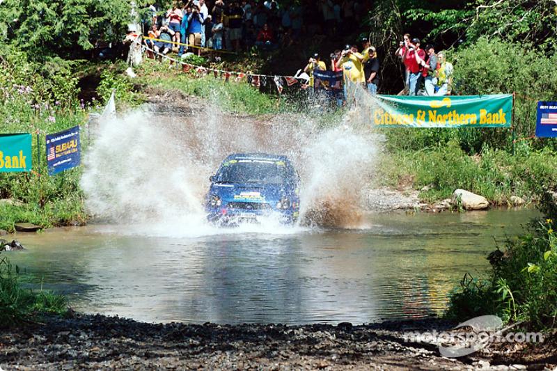 Subaru makes a splash