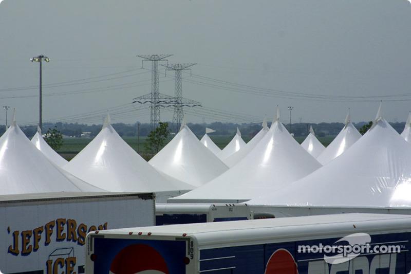 Campo interno de Chicagoland Speedway