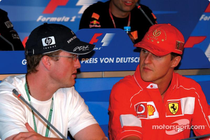 Ralf Schumacher e Michael Schumacher