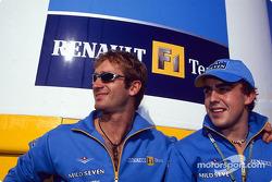 Jarno Trulli y Fernando Alonso