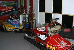Visit to Gilles Villeneuve Museum: the snowmobiles