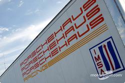 remorque de Porschehaus Racing