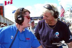 Panoz Motor Sport crew members