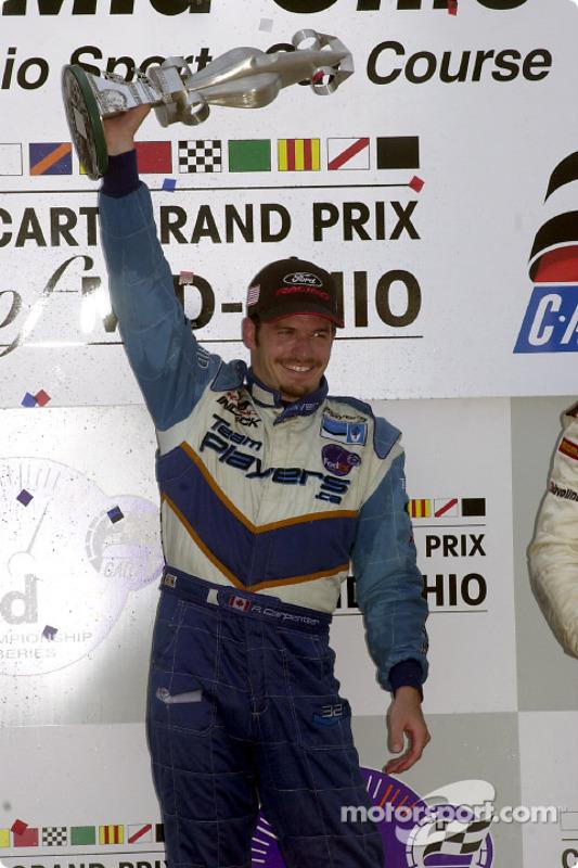 Patrick Carpentier, vainqueur