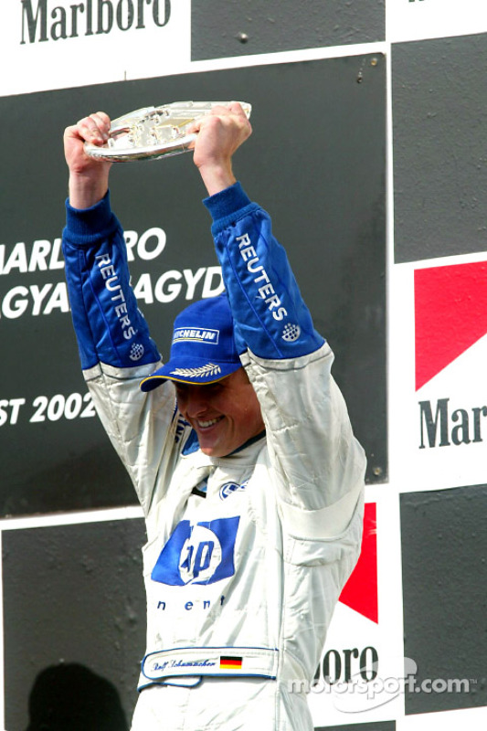 El podio: Ralf Schumacher