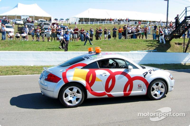 The Audi TT pace car