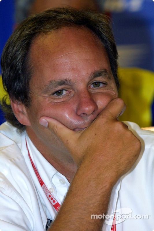 Press conference: Gerhard Berger