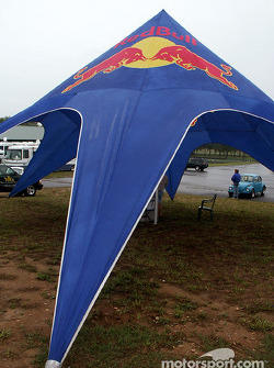 Red Bull tent