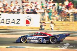 #23 Nissan R90CP:  Masahiro Hasemi, Kazuyoshi Hoshino, Toshio Suzuki