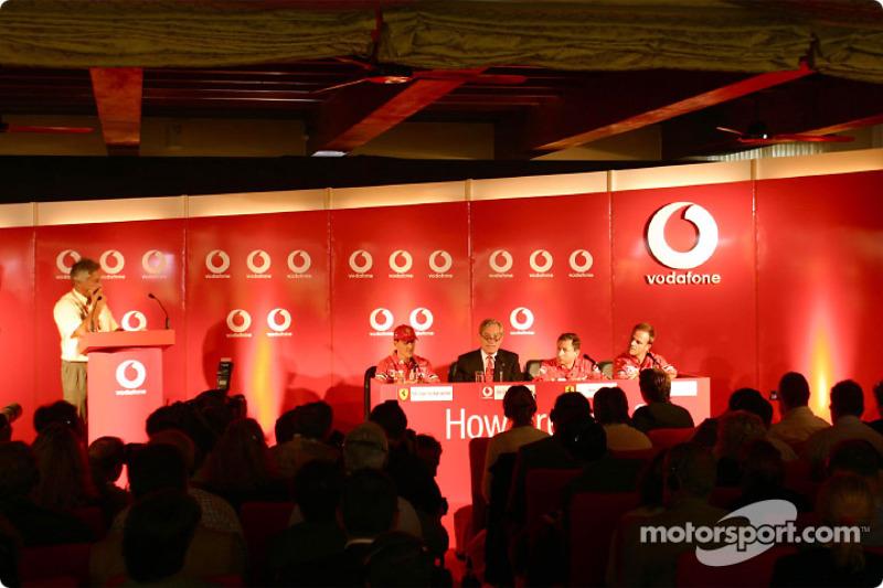 Conferencia de prensa Vodafone