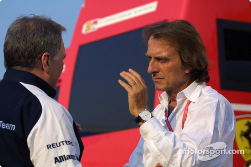 Patrick Head and Luca di Montezemelo