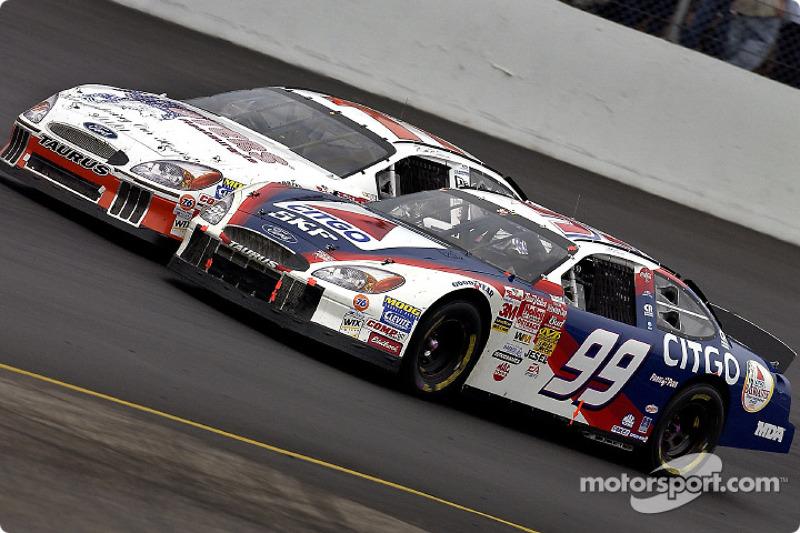 Jeff Burton y Brett Bodine