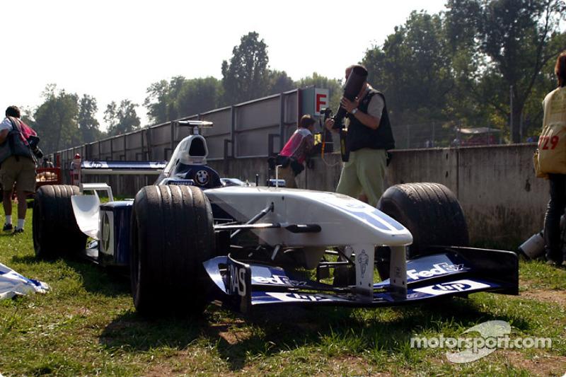 El Williams-BMW de Ralf Schumacher