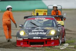 #28 Porsche 911GT3R (GT300), Yukihiro Hane, Yutaka Yamagishi