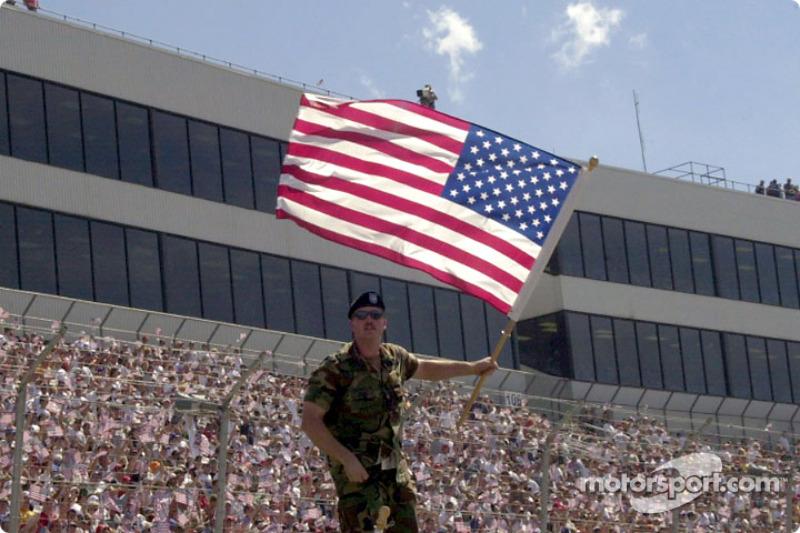 Un momento patriótico