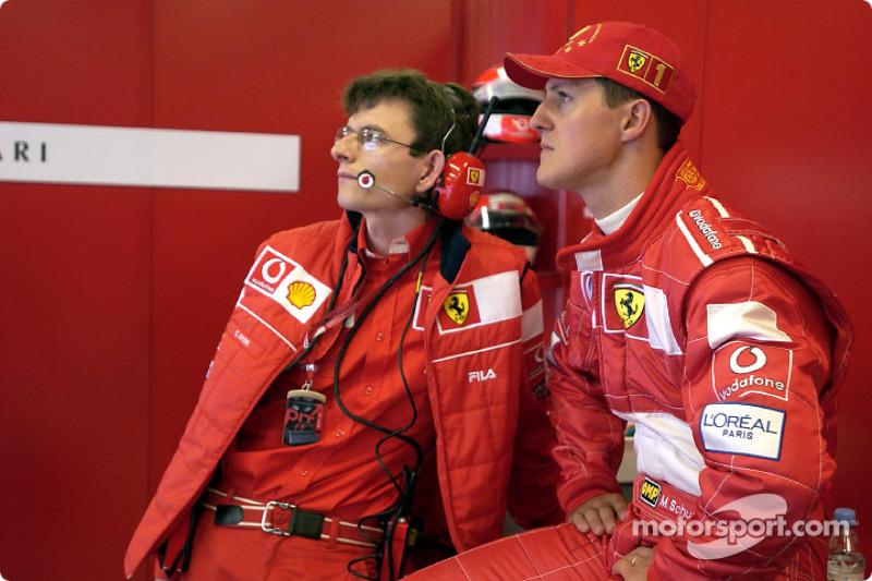 2002 United States GP, Ferrari F2002