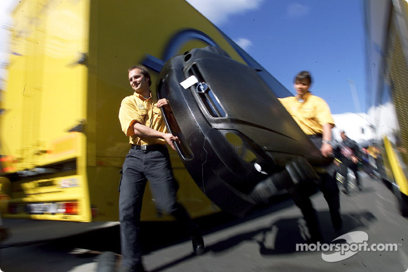 Miembros del equipo Opel