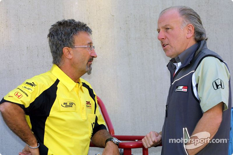 Eddie Jordan y David Richards