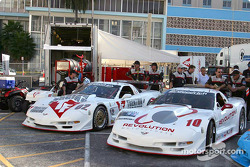 Revolution Motorsports paddock area