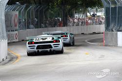 The two Konrad Motorsports Saleen S7R