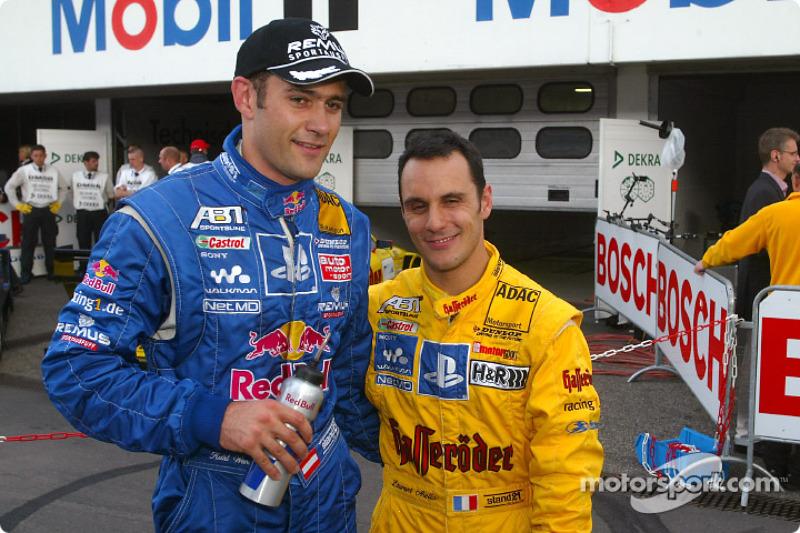 Karl Wendlinger y Laurent Aiello