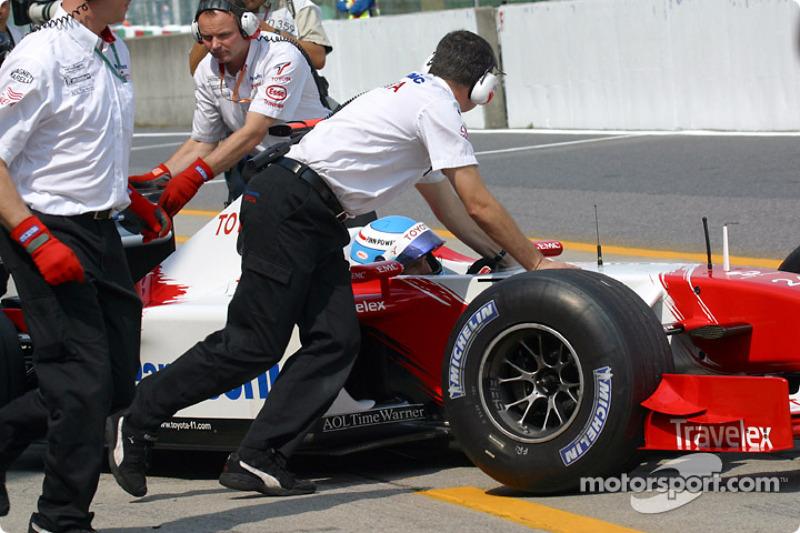 Mika Salo de regreso al garage