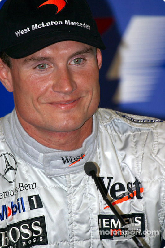 Conférence de presse du samedi: David Coulthard