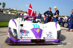 R.N. Motorsports Reynard 02S on the grid
