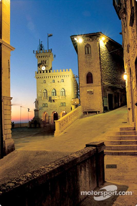 Postal de la República de San Marino