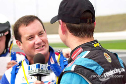 The Coca-Cola Racing Family promotion: Kurt Busch interviewed