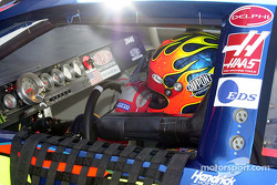 Jeff Gordon, a shot of the dashboard