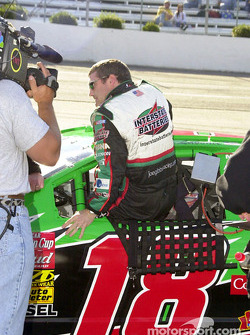 Bobby Labonte climbs in