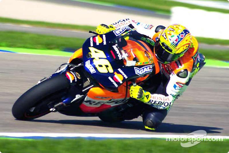 2002 - Валентино Россі, Honda