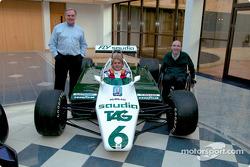 Patrick Head, Nico Rosberg y Frank Williams