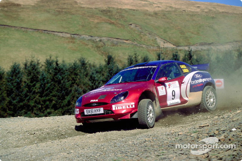 Кріс Мік, Ford Rallye Sport Junior Team