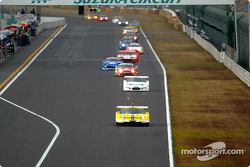 GT500 first lap