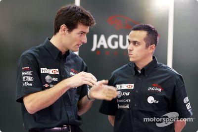 Jaguar Racing 2003 drivers presentation