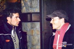 Alex Tagliani y Jacques Villeneuve