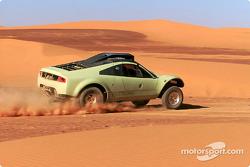 Volkswagen Tarek test drive, November 2002
