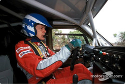 Nissan Rally Raid Team tests in South Africa: Ari Vatanen